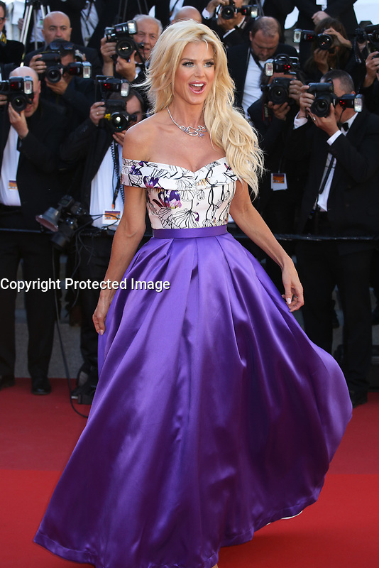 VICTORIA SILVSTEDT - RED CARPET OF THE FILM 'OKJA' AT THE 70TH FESTIVAL OF CANNES 2017