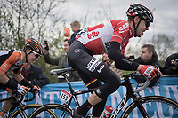 Bart De Clercq (BEL/Lotto-Soudal) in the race lead up La Redoute<br /> <br /> 103rd Liège-Bastogne-Liège 2017 (1.UWT)<br /> One Day Race: Liège › Ans (258km)