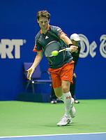 17-12-13,Netherlands, Rotterdam,  Topsportcentrum, Tennis Masters, ,  Nick van der Meer  <br /> Photo: Henk Koster