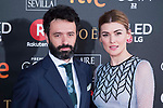 Rodrigo Sorogoyen and Marta Nieto attends red carpet of Goya Cinema Awards 2018 at Madrid Marriott Auditorium in Madrid , Spain. February 03, 2018. (ALTERPHOTOS/Borja B.Hojas)