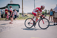 Nicolas Edet (FRA/Cofidis) at the end of pav&eacute; sector #9<br /> <br /> Stage 9: Arras Citadelle &gt; Roubaix (154km)<br /> <br /> 105th Tour de France 2018<br /> &copy;kramon
