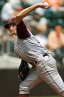 Hales, Ross 0390.jpg.  Big 12 Baseball game with Texas A&M Aggies at Texas Lonhorns  at UFCU Disch Falk Field on May 9th 2009 in Austin, Texas. Photo by Andrew Woolley.