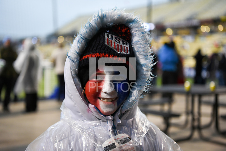 Columbus, Ohio - Thursday March 01, 2018: FANS during a 2018 SheBelieves Cup match between the women's national teams of the United States (USA) and Germany (GER) at MAPFRE Stadium.
