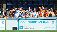 Blackpool fans enjoy the pre-match atmosphere <br /> <br /> Photographer Kevin Barnes/CameraSport<br /> <br /> The EFL Sky Bet League One - Wycombe Wanderers v Blackpool - Saturday 4th August 2018 - Adams Park - Wycombe<br /> <br /> World Copyright &copy; 2018 CameraSport. All rights reserved. 43 Linden Ave. Countesthorpe. Leicester. England. LE8 5PG - Tel: +44 (0) 116 277 4147 - admin@camerasport.com - www.camerasport.com