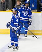 Phil Boje (AFA - 4), Dylan Abood (AFA - 23) - The Harvard University Crimson defeated the Air Force Academy Falcons 3-2 in the NCAA East Regional final on Saturday, March 25, 2017, at the Dunkin' Donuts Center in Providence, Rhode Island.