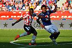 Atlético Junior se impuso 2-0 a Millonarios este domingo por la tarde en el estadio Metropolitano de Barranquilla en el juego de la fecha 11 del Torneo Apertura Colombiano 2015.