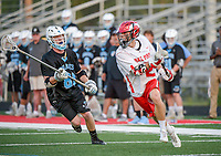 April 18, 2017: during FHSAA State boys lacrosse 2nd round play in between Ponte Vedra H.S. and Lake Mary H.S. at Don T Reynolds Stadium in Lake Mary, FL