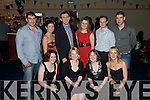 St Senan's NYE Party:Enjoying the NYE party held at St Senan's Clubhouse, Mountcoal, Listowel  were in front Aileen Somers, Noreen Somers,Louise Somers & Lisa Harmon. Back : John Somers, Sarah Jane Somers, Padraigh Somers,  Shelia Harmon, Justin O'Sullivan &  Liam Somers.