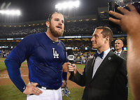 10/26/18 - Los Angeles:  World Series on Fox - Game 3 - Boston Red Sox vs LA Dodgers - Postgame