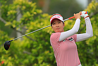 Chella Choi (KOR) in action on the 3rd during Round 2 of the HSBC Womens Champions 2018 at Sentosa Golf Club on the Friday 2nd March 2018.<br /> Picture:  Thos Caffrey / www.golffile.ie<br /> <br /> All photo usage must carry mandatory copyright credit (&copy; Golffile | Thos Caffrey)