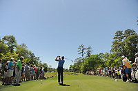 Henrik Stenson (SWE) watches his tee shot on 2 during round 1 of the Shell Houston Open, Golf Club of Houston, Houston, Texas, USA. 3/30/2017.<br /> Picture: Golffile | Ken Murray<br /> <br /> <br /> All photo usage must carry mandatory copyright credit (&copy; Golffile | Ken Murray)