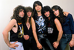 Various portrait sessions of the rock band, Fates Warning.