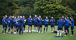 280912 Rangers training