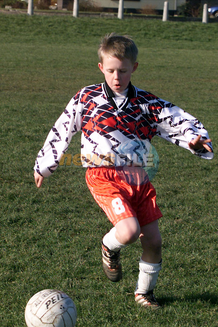 River Celtic's Kieran Floyd in action against Boyne Yellow at Little Wembley in the under-11's match..pic: Newsfile