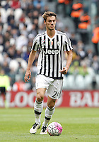 Calcio, Serie A: Juventus vs Carpi. Torino, Juventus Stadium, 1 maggio 2016.<br /> Juventus' Daniele Rugani in action during the Italian Serie A football match between Juventus and Carpi at Turin's Juventus Stadium, 1 May 2016.<br /> UPDATE IMAGES PRESS/Isabella Bonotto