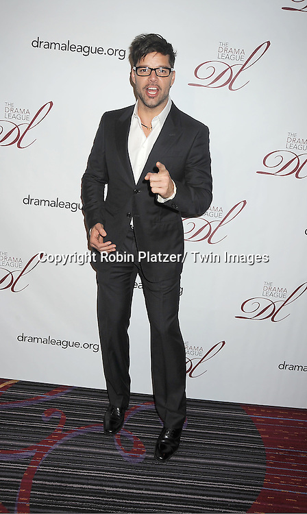 Ricky Martin attends the 78th Annual  Drama League Awards Luncheon at The Marriott Marquis Hotel in New YOrk City on May 18, 2012.