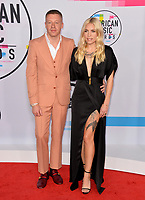 Macklemore &amp; Skylar Grey at the 2017 American Music Awards at the Microsoft Theatre LA Live, Los Angeles, USA 19 Nov. 2017<br /> Picture: Paul Smith/Featureflash/SilverHub 0208 004 5359 sales@silverhubmedia.com