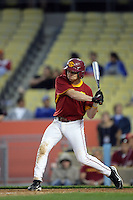 February 28 2010: Taylor Wrenn of USC during game against UCLA at Dodger Stadium in Los Angeles,CA.  Photo by Larry Goren/Four Seam Images