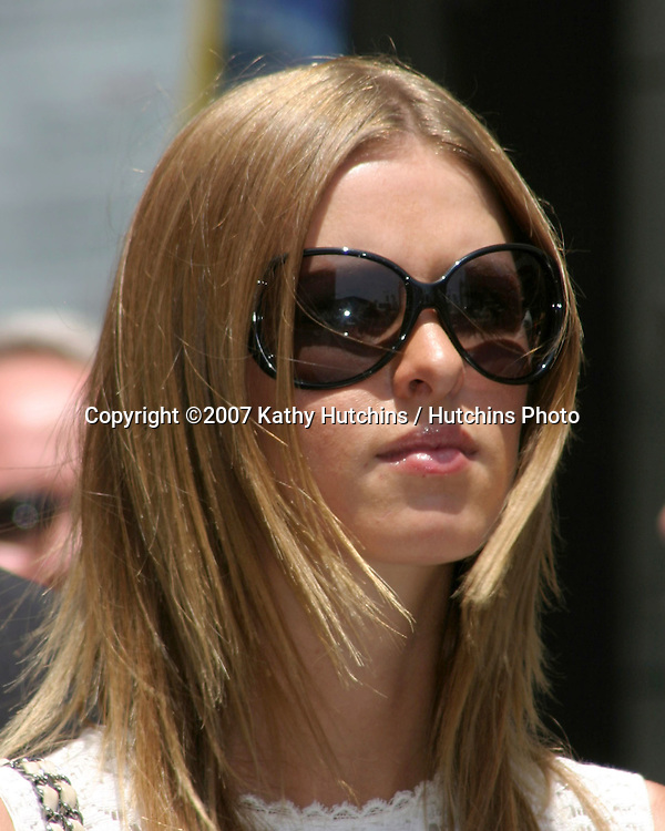 Nicky Hilton.Barbara Walters receives Star on the Hollywood Walk of Fame.Hollywood & Highland.Los Angeles, CA.June 14, 2007.©2007 Kathy Hutchins / Hutchins Photo....