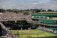 Ambience<br /> <br /> Tennis - The Championships Wimbledon  - Grand Slam -  All England Lawn Tennis Club  2013 -  Wimbledon - London - United Kingdom -Saturday  29th June  2013. <br /> &copy; AMN Images, 8 Cedar Court, Somerset Road, London, SW19 5HU<br /> Tel - +44 7843383012<br /> mfrey@advantagemedianet.com<br /> www.amnimages.photoshelter.com<br /> www.advantagemedianet.com<br /> www.tennishead.net