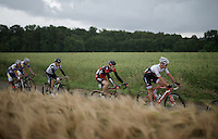 Jasper Stuyven (BEL/Trek-Segafredo) &amp; Ben Hermans (BEL/BMC)<br /> <br /> Belgian National Road Cycling Championships 2016<br /> Les Lacs de l'Eau d'Heure