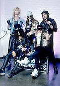 Guns n Roses Photo Session at Roy Wilkins Auditorium, St. Paul, MN UUSA - Dec 17, 1987. Photo credit: Eddie Malluk/AtlasIcons.com