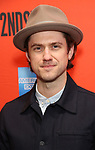 """Aaron Tveit attending the Broadway Opening Night Performance of  """"Lobby Hero"""" at The Hayes Theatre on March 26, 2018 in New York City."""