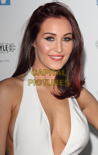 LONDON, ENGLAND - NOVEMBER 25:Chloe Goodman attends the Now magazine Christmas Party at the Drury Club on November 25, 2014 in London, England<br /> CAP/ROS<br /> &copy;Steve Ross/Capital Pictures