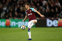 Aaron Cresswell of West Ham United during West Ham United vs Stoke City, Premier League Football at The London Stadium on 16th April 2018