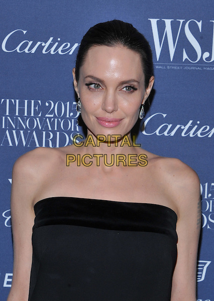 New York,NY-November 4: Angelina Jolie Pittattend the WSJ. Magazine 2015 Innovator Awards at the Museum of Modern Art on November 4, 2015 in New York City. <br /> CAP/MPI/STV<br /> &copy;STV/MPI/Capital Pictures