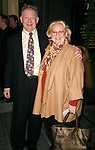 Barbara Cook &amp; Harvey Evans attending the Opening Night Performance of THE APPLE TREE at Studio 54 in New York City.<br />