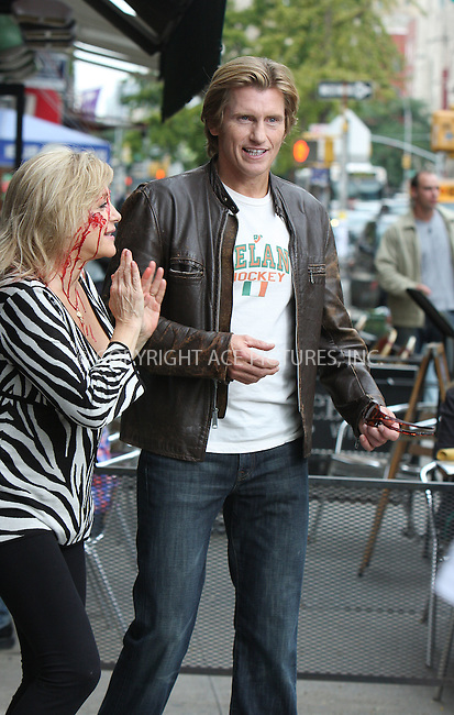 WWW.ACEPIXS.COM . . . . .  ....September 24 2009, New York City....Actors Denis Leary and Patti D'Arbanville on the set of the TV show 'Rescue Me' on September 24 2009 in New York City....Please byline: AJ Sokalner - ACEPIXS.COM..... *** ***..Ace Pictures, Inc:  ..tel: (212) 243 8787..e-mail: info@acepixs.com..web: http://www.acepixs.com