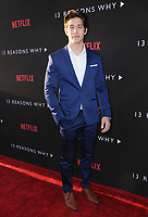 "30 March 2017 - Los Angeles, California - Brandon Larracuente.  Premiere Of Netflix's ""13 Reasons Why"" held at Paramount Studios in Los Angeles. Photo Credit: Birdie Thompson/AdMedia"