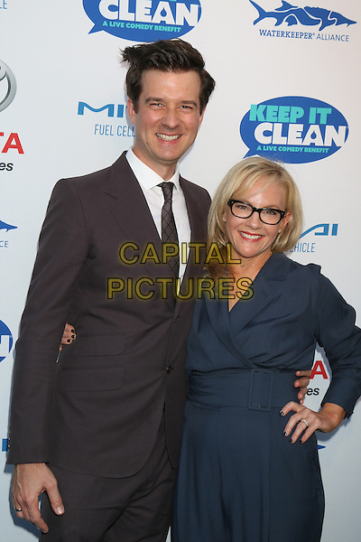 HOLLYWOOD, CA - APRIL 21: Christian Hebel, Rachael Harris at the Keep It Clean Comedy Benefit For Waterkeeper Alliance at Avalon on April 21, 2016 in Hollywood, California. <br /> CAP/MPI/DE<br /> &copy;DE/MPI/Capital Pictures
