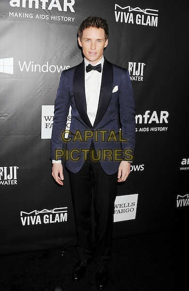 HOLLYWOOD, CA- OCTOBER 29: Actor Eddie Redmayne attends amfAR LA Inspiration Gala honoring Tom Ford at Milk Studios on October 29, 2014 in Hollywood, California.<br /> CAP/ROT/TM<br /> &copy;TM/ROT/Capital Pictures