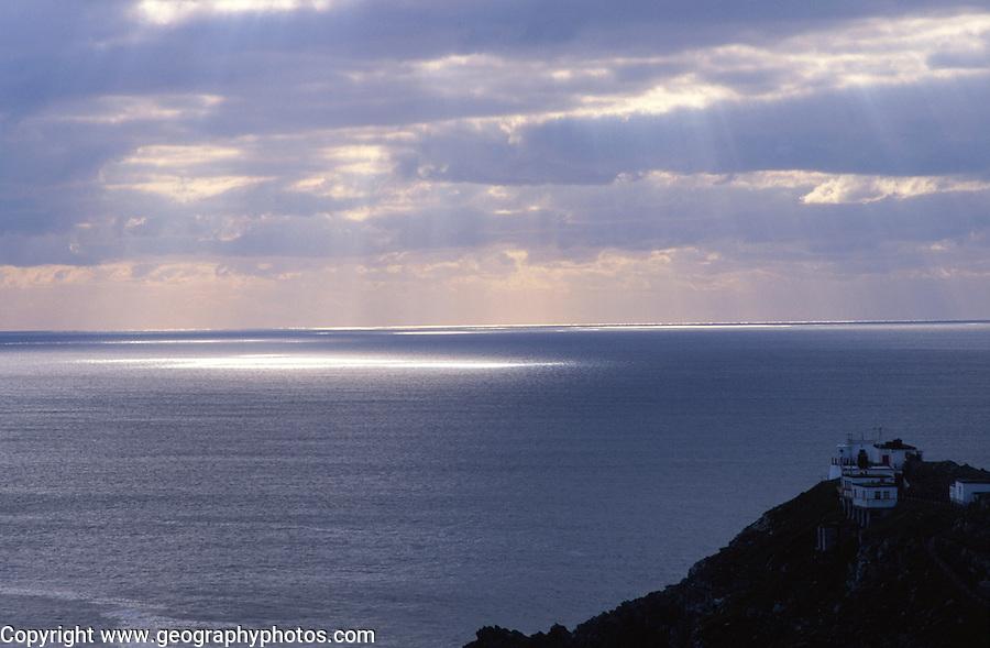 Lighthouse and Atlantic Ocean views, Mizen Head, County Cork, Ireland