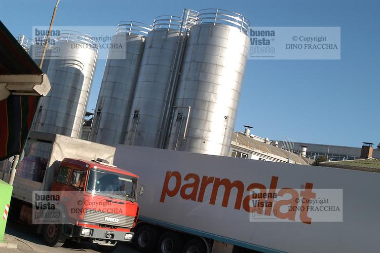 - Parmalat plant....- stabilimento Parmalat