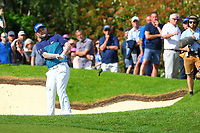Brandon Grace on the 18th fairway during the BMW PGA Golf Championship at Wentworth Golf Course, Wentworth Drive, Virginia Water, England on 27 May 2017. Photo by Steve McCarthy/PRiME Media Images.