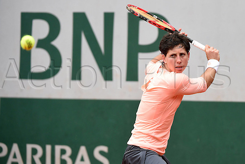 01.06.2016. Roland Garros, Paris, France, French Open tennis championships, day 11.  Carla Suarez Navarro (ESP)
