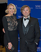 Emily Osment, left, and Haley Joel Osment arrive for the 2015 White House Correspondents Association Annual Dinner at the Washington Hilton Hotel on Saturday, April 25, 2015.<br /> Credit: Ron Sachs / CNP
