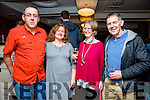Enjoying the Tralee Rowing Club social at Benners Hotel on Friday were Peter Larkin, Barbara Larkin, Grainne Mulvihill, Robert Stewart