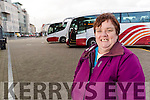 Geraldine Dineen, Ballyheigue who will be affected if the Bus Strike goes ahead.