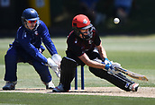 6th December 2017, Eden Park, Auckland, New Zealand; Ford Trophy One Day Cricket, Auckland Aces versus Canterbury Wizards;  Will Williams scoops