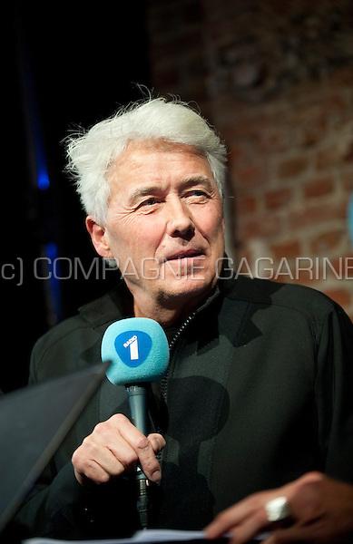 Dutch musician and singer George Kooymans performing at the Radio 1 Sessies, in Antwerp (Belgium, 19/11/2015)