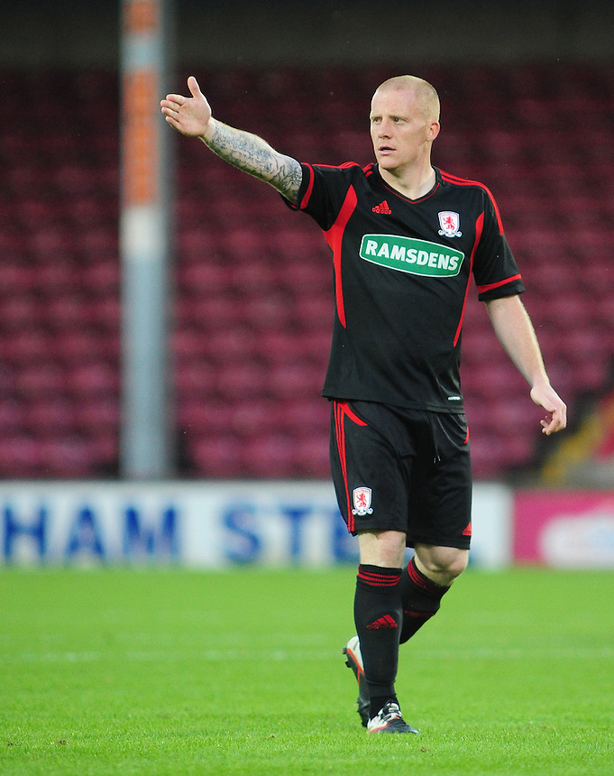Middlesbrough's Nicky Bailey ..Football Friendly - Scunthorpe United v Middlesbrough - Wednesday 8th August 2012 - Glanford Park - Scunthorpe..