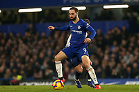 Gonzalo Higuaín of Chelsea and Harry Winks of Tottenham Hotspur during Chelsea vs Tottenham Hotspur, Premier League Football at Stamford Bridge on 27th February 2019