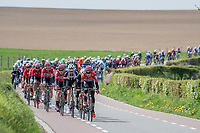 Bart De Clercq (BEL/Lotto-Soudal) up front setting the pace<br /> <br /> 52nd Amstel Gold Race (1.UWT)<br /> 1 Day Race: Maastricht &rsaquo; Berg en Terblijt (264km)