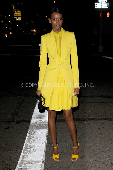 WWW.ACEPIXS.COM . . . . . .November 14, 2011...New York City....Liya Kebede   attends the 8th Annual CFDA Vogue Fashion Fund Awards at the Skylight SOHO on November 14, 2011 in New York City.....Please byline: KRISTIN CALLAHAN - ACEPIXS.COM.. . . . . . ..Ace Pictures, Inc: ..tel: (212) 243 8787 or (646) 769 0430..e-mail: info@acepixs.com..web: http://www.acepixs.com .