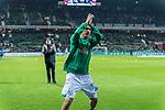 08.03.2019, Weser Stadion, Bremen, GER, 1.FBL, Werder Bremen vs FC Schalke 04, <br /> <br /> DFL REGULATIONS PROHIBIT ANY USE OF PHOTOGRAPHS AS IMAGE SEQUENCES AND/OR QUASI-VIDEO.<br /> <br />  im Bild<br /> <br /> Max Kruse (Werder Bremen #10) bei der Begruessung vor dem Spiel<br /> <br /> Foto &copy; nordphoto / Kokenge