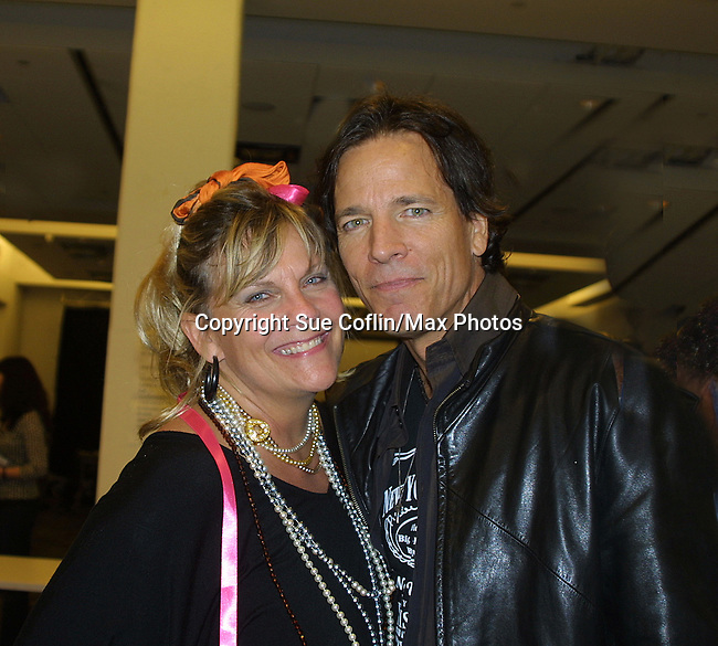 Kim Zimmer and Bradley Cole at the 9th Annual Rock Show for Charity to benefit the American Red Cross of Greater New York on October 9, 2010 at the American Red Cross Headquarters, New York City, New York. (Photos by Sue Coflin/Max Photos)